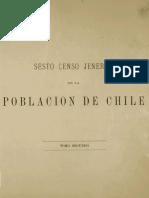MC0043127. 6° Censo Jeneral Rep Chile - Tomo 2 1885