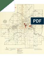 Twin Cities, Minnesota Population distribution of minorities, 1970.