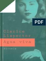 Agua viva - Clarice Lispector.pdf