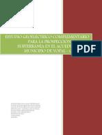 Estudio Geoelectrico Municipio de Yopal pdf