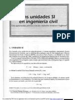 Las Unidades SI en Ingeniería Civil