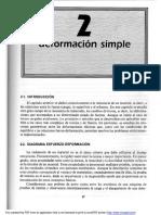 Deformación Simple (Hooke, Poisson)