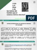 Sistema Internacional de Unidades de Medidas Iso 80000-1
