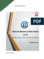 Procedimiento Tributario Gerencie 2016