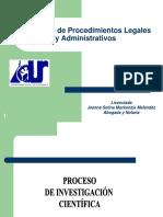 Seminario de Procedimientos Legales y Administrativos