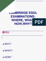 CB Cambridge Exams Presentation