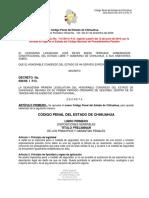 Código Penal Actualizado 2016