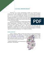 Alcohol DeshidrogenasaBIOQUIMICA I