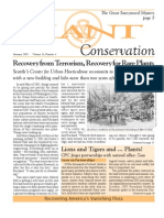 Autumn 2003 Plant Conservation Newsletter