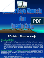 10. SDM Dan Desain Kerja