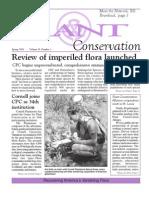 Spring 2006 Plant Conservation Newsletter
