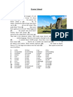 Easter Island Reading Comprehension Exercises 98034