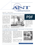 Summer 2007 Plant Conservation Newsletter