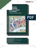 Diccionario-Terminos urbanismo