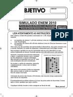 Simulado Objetivo Enem _prova_1