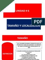 UNIDAD # 6  TAMAÑO Y LOCALIZACION GERENCIA 1 (1).ppt
