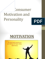 Ch 2 Motivation and Personality