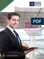 Maestria en Gestion Publica USIL