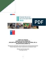 Libro de Códigos II Estudio Nacional de la Discapacidad