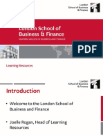 London School of Business and Ffinance
