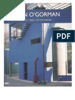 Libro Juan O'Gorman