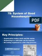 7s of Good Housekeeping