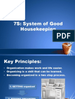 7s of Good Housekeeping
