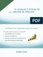 Cuestiones Legales en Precios