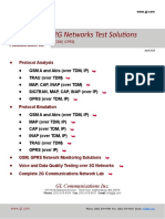 2G Networks Test Solutions Combined Brochure