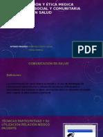 Comunicación y Ética Medica