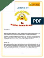 Joining Kit- 1_motilal Oswal