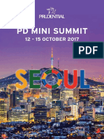 PD Mini Summit Seoul Travel Guide