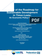 Jerry Courvisanos and Matias Boavida's Review of the TL Goernment's Roadmap for Sustainable Development in Timor-Leste