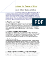 Ten Principles for Peace of Mind.docx