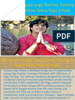200 Hour Vinyasa Yoga Teacher Training Courses  in Rishikesh , India