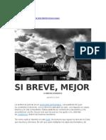 OYHANARTE, Martín - Si Breve, Mejor
