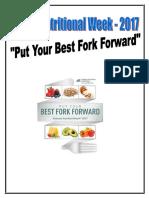 Nutrition Week