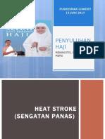 Penyuluhan Haji Meningitis Heat Stroke Mers