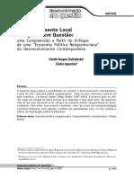 Sobre o Desenvolvimento Local e Regional Sustentável