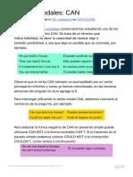 Verbos Modales_ CAN | Aprender Inglés Fácil