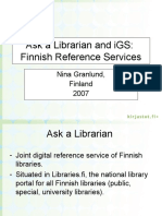 Ask Librarian and Igs