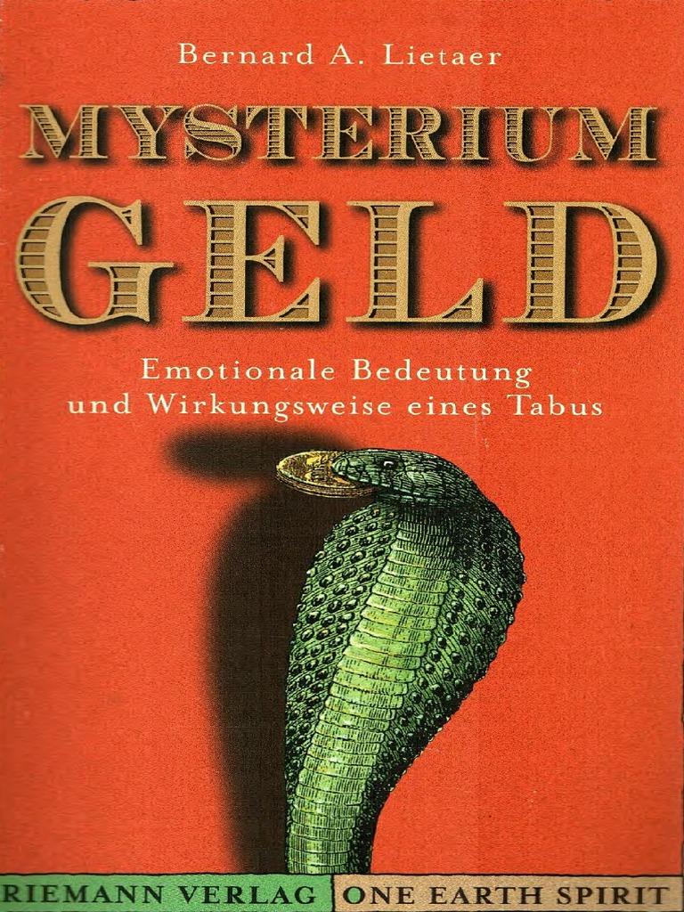 Bernard Lietaer - Mysterium Geld PDF Download - Emotionelle ...