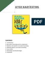 Rain Water Harvesting (2)