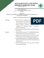 Sk Permintaan Pemeriksaan Penerimaan Spesimen Pengambilan Sampel