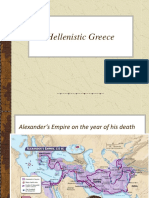 Chapter 5, Hellenistic Greece