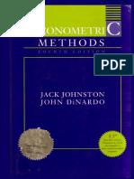 Econometric Methods 4th ed - J. Johnston, J. DiNardo (1997) WW.pdf
