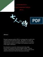 PCA Princeton PPT