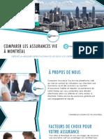 Trouvez la Meilleure Assurance Vie à Montréal