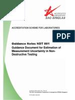 Guidance Note NDT 001, Feb 04