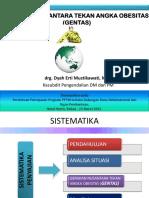 Gerakan Nusantara Tekan Angka Obesitas